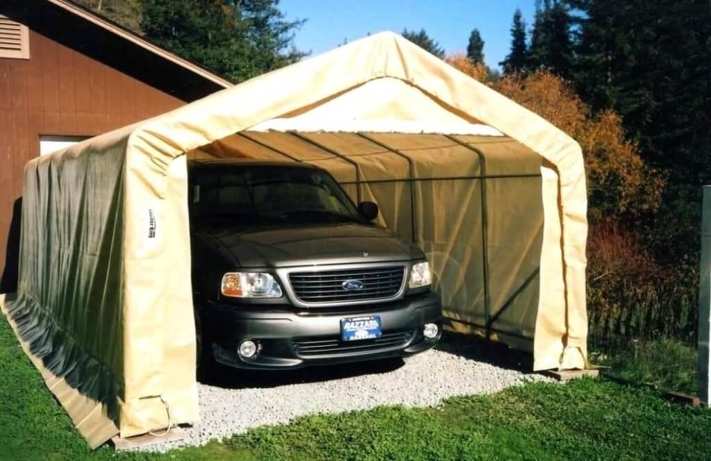 Lona para cobertura de garagem