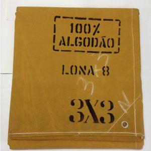 Lona encerado amarela 3x3