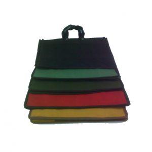 Sacola de lona cores variadas